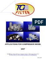 REV207 Applications Type of Compressors