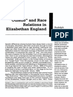 Othello and Race in Elizabethan England