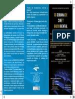 XII Ciclo de cine y salud mental 2013 Exterior