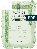 Plan de Gestion Ambiental Word