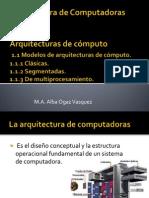 Arquitectura de Computadoras PARTE I