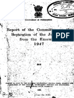 Justice N.S.lokur - Report of the Committee on the Separation of the Judiciary From the Executive, 1947
