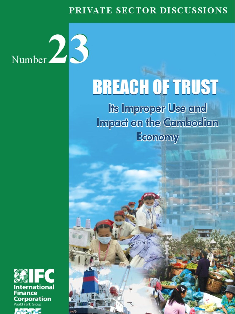 Breach of Trust in Cambodia | Manslaughter | English Trust Law
