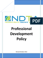 PD Policy Revised October 2012