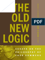 The Old New Logic_ Essays on the Philosophy of Fred Sommers - David S. Oderberg,_P.F. Strawson