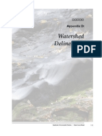 AppD Watershed Delineate