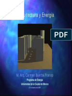Arquitectura y Energia