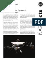 Voyager Fact Sheet 091213