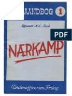 Vejledning i Naerkamp (Guide to Close Combat) - Officant E. Frost 1946