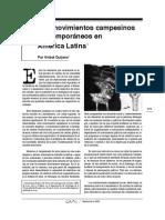 Anibal Quijano Los Movimientos Campesinos Contemporaneos en America Latina