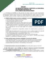 Anunt Admitere Institut Medico-Militar Bucuresti 2013 (1)