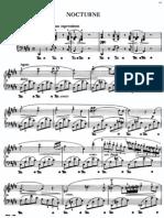 Nocturne 20 c#m. Chopin