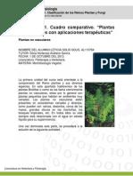 Actividad 1. Cuadro Comparativo. Plantas No Vasculares (Autoguardado) 2