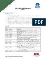 TFD Workshop Agend