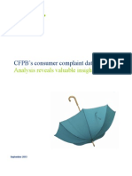 Deloitte Analysis PoV-- CFPB%27s Consumer Complaint Database