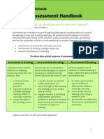 Saskatoon Public Schools Secondary Assessment Handbook