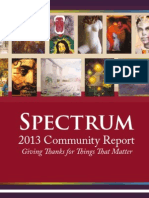 Spectrum 2013 Global Community Report