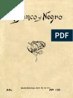 Revista Blanco y Negro 137