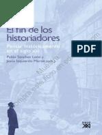 Sanchez Leon_El Fin de Los Historiadores