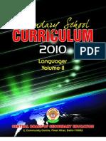 Class X Syllabus-Vol2