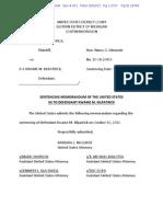 Kwame Kilpatrick sentencing memorandum