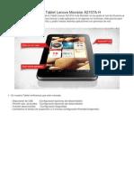 Tutorial Para Rootear La Tablet Lenovo