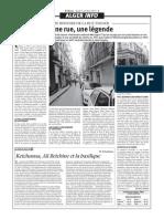 Petite Histoire de La Rue Tanger
