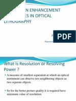 Resolution enhancement techniques.pptx