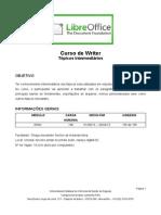 Writer Conteudo Programatico