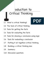 Critical Tinhinking