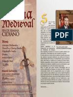 Folleto Fin de Semana Cidiano,4,5 y 6 de Octubre