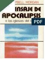 El Mensaje de Apocalipsis a Las Iglesias Del s. XX - G. Campbell Morgan