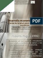 2.2.7 Efectos de La Salud Sobre El Crecimeinto Economico