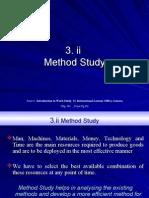 3.II Method Study