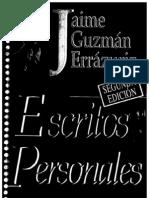 20 - Escritos Personales Jaime Guzman
