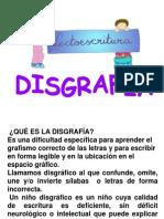 DISGRAFIA