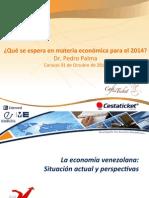 ¿Qué se espera en materia económica para el 2014?