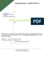 Tarea  Comunicación Organizacional