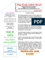 hfc october 6 2013 bulletin