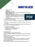 Nadia_Nr.formate Din Zeci,Proiect de Lectie