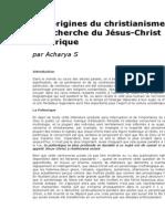 Acharya S Les Origines Du Christianisme