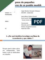 PRESENTACIONES PARA CONGRESO PEQUEÑOS INVESTIGADORES DEL PUEBLO MUCHIK DE ETEN