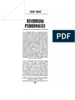 Teodor Adorno - Revidirana psihoanaliza