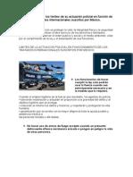 Conclusión sobre los límites de su actuación policial en función de los tratados internacionales suscritos por México