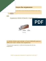 aplicações e traços das argamassas