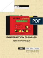AC-PRO - Trip Unit - Instruction Manual - 2-2006 and Later
