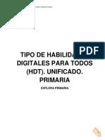Tipo de Habilidades Digitales Para Todos Unificado Primaria