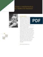 BARBERO. Razón técnica y razón política