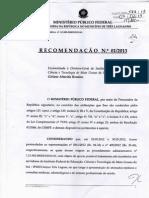 MPF - RECOMENDAÇOES
