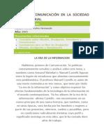 CIENCIA Y COMUNICACIÓN EN LA SOCIEDAD POSTINDUSTRIAL